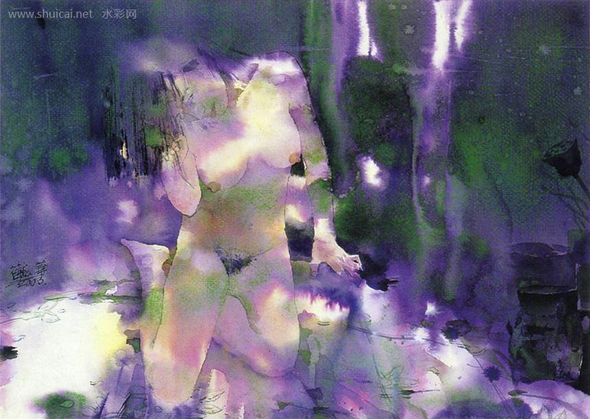 水彩,水彩画,水彩作品,水彩画作品,全国首届小幅水彩画展作品选(5)