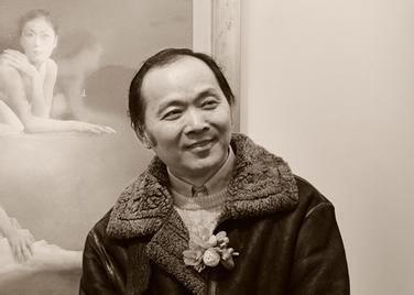 水彩画家柳毅