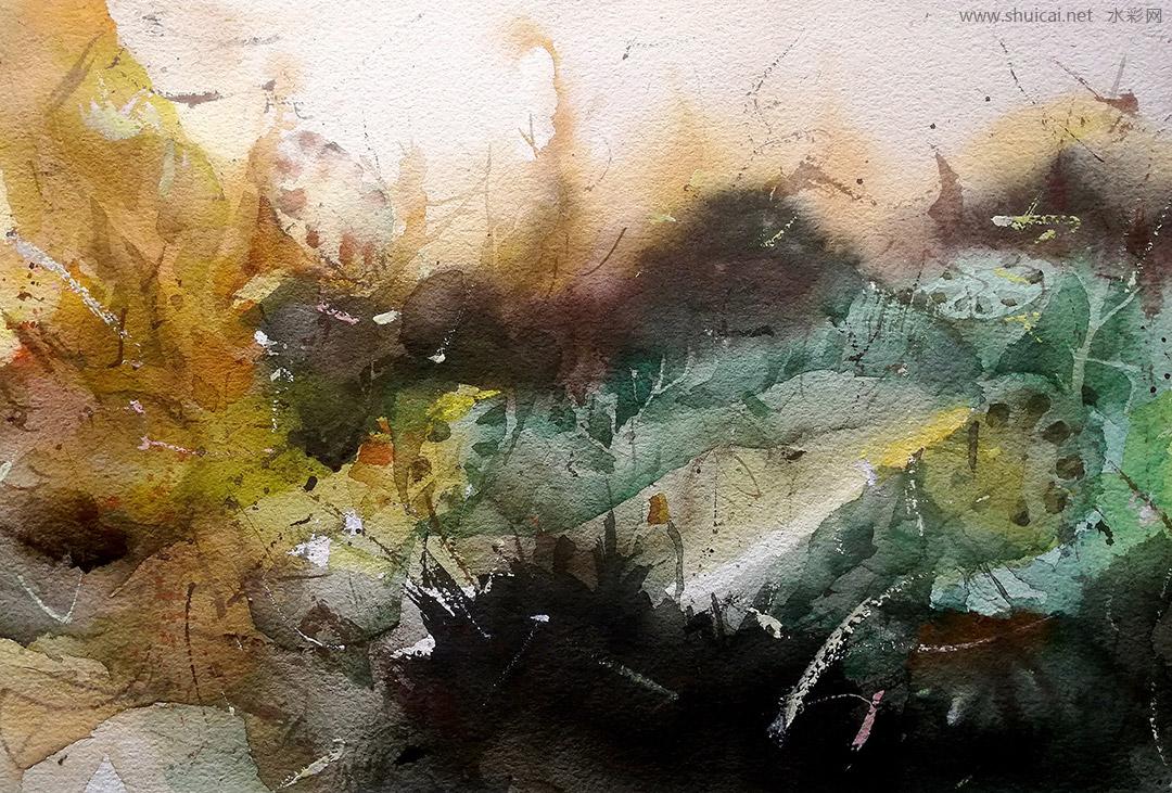 水彩,水彩画,原创水彩,水彩作品,水彩画作品,王海,王海水彩,王海水彩画