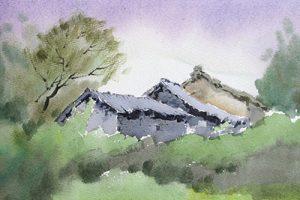 夏权水彩画作品